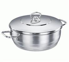 قابلمه تکی استیل 2.5 لیتری کرکماز Single steel Pot 2.5 liter korkmaz A1894