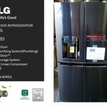 یخچال ساید بای ساید نکست الجی مدل LG Refrigeratore DOOR IN DOOR GR-J34FTKHL
