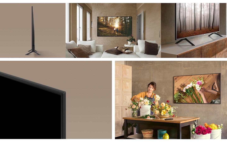 بررسی مشخصات، اخرین قیمت روز و خرید تلویزیون سامسونگ مدل 55NU7100 در بانه ویترین، جدیدترین اطلاعات تلویزیون اسمارت سامسونگ 55NU7100، مشخصات و عکسها