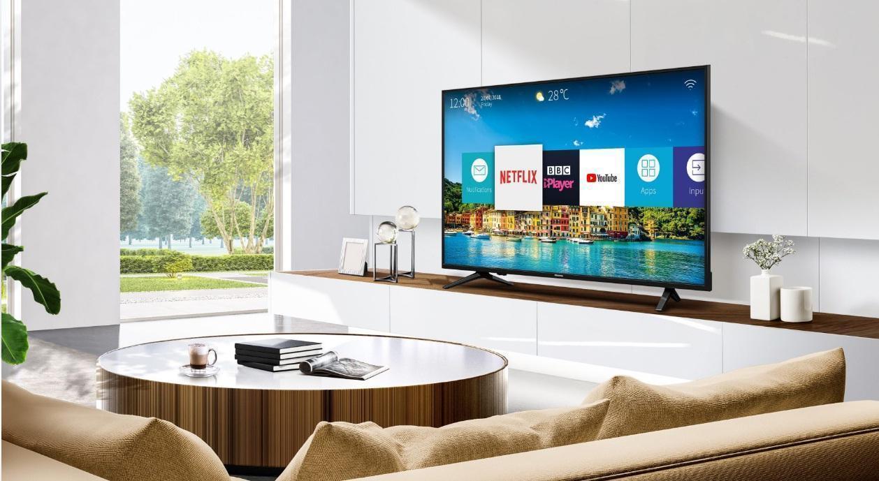 تلویزیون 4K اسمارت هایسنس مدل 55A6100