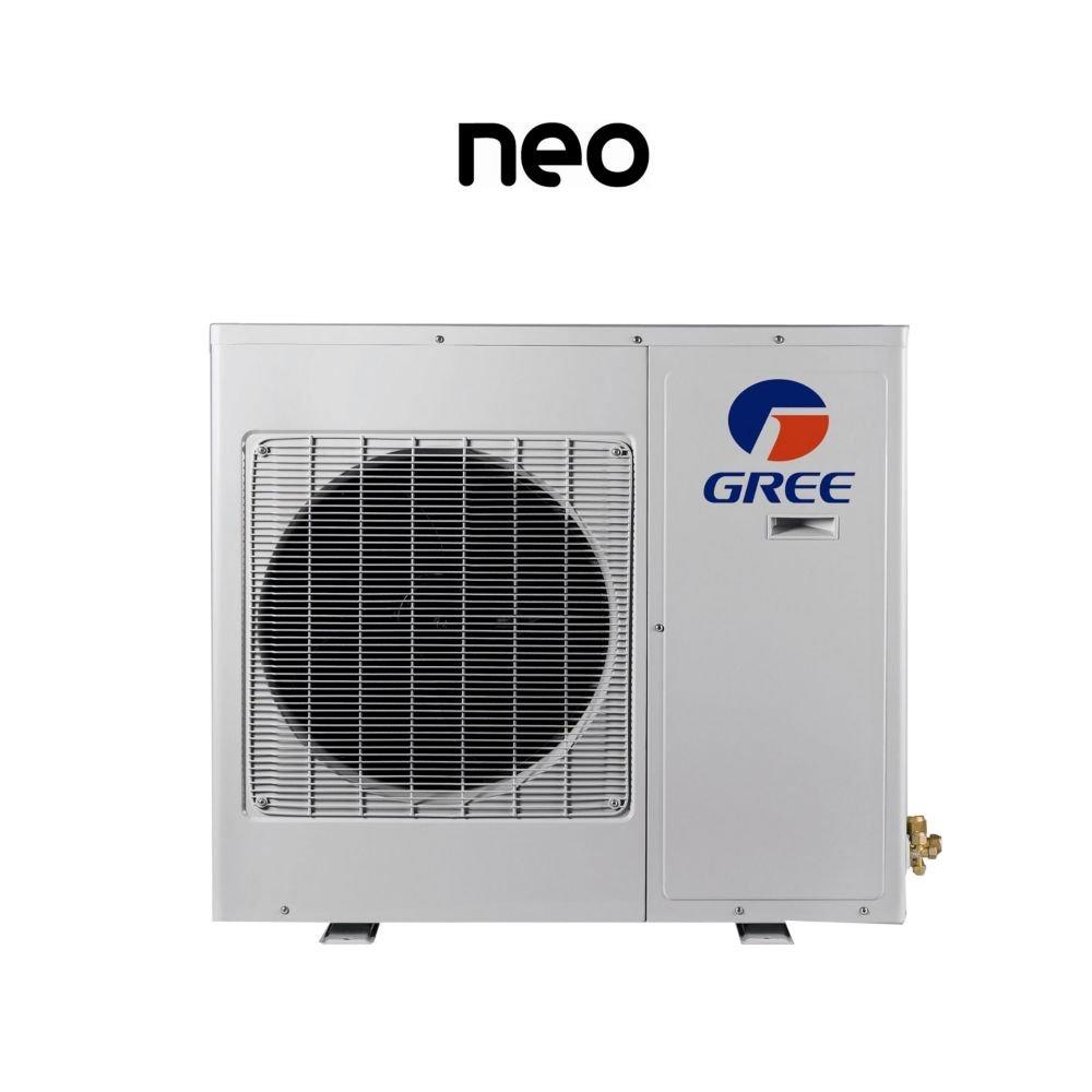 کولرگازی سرمایشی گرمایشی 12000 گری مدل NEO12HP230V1A