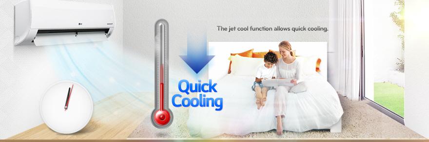 کولر گازی سرمایشی گرمایشی الجی LG Air Conditioner AK-12JJT 12000 BTU